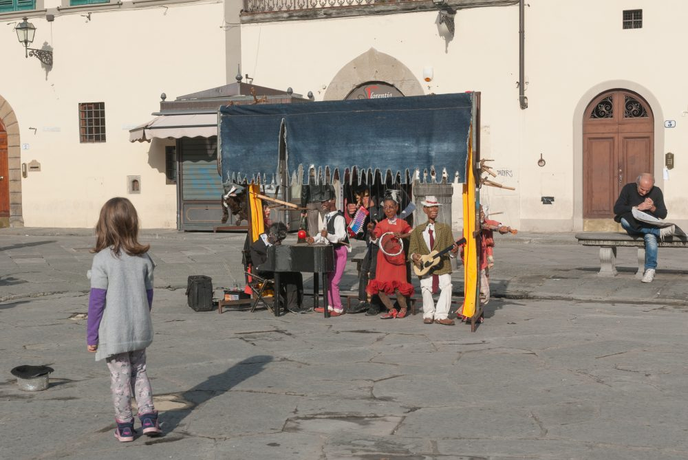 Puppet Show, Piazza Santa Croce, Florence