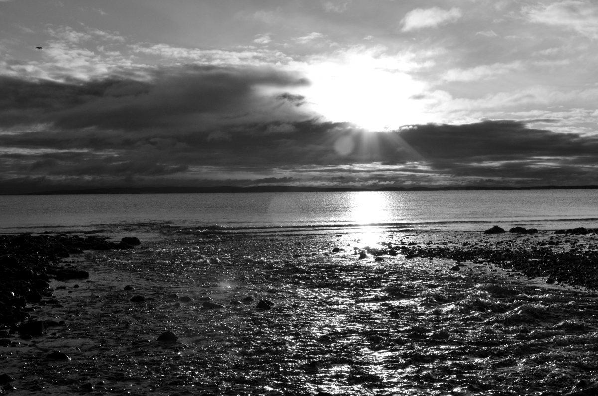 Michele Monticello ocean sunset, Scotland