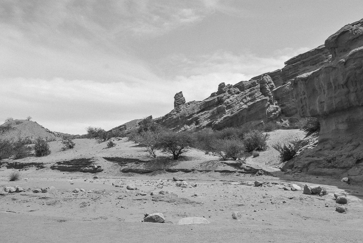Rocks and Sand in the Desert Atacama Desert Andes Argentina