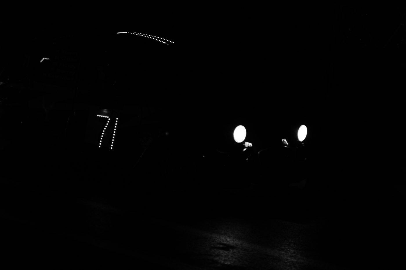 NIght shot Motor Racing